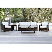 Abbyson Living Hanson 5-Pc. Patio Seating Set