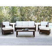 Abbyson Living Hanson 6-Pc. Patio Seating Set