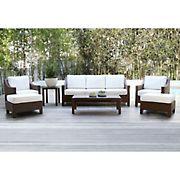 Abbyson Living Hanson 7-Pc. Patio Seating Set