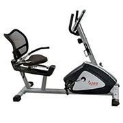 Sunny Health & Fitness Endurance Zone Training Recumbent Bike