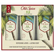 Old Spice Body Wash for Men Fiji with Palm Tree Scent, 3 ct.