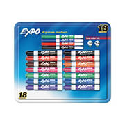 Expo Dry Erase Mixed Pack Dry Erase Markers, 18 ct.