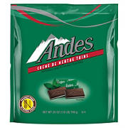 Andes Creme DeMenthe Thins, 180 ct.