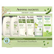 Aveeno Daily Moisturizing And Positively Radiant Trial Travel Pack
