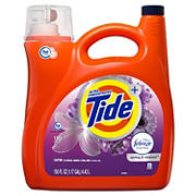 Tide Plus Febreze Spring and Renewal Liquid Laundry Detergent, 150 fl. oz.