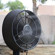 Frigidaire Outdoor Misting Fan - Black