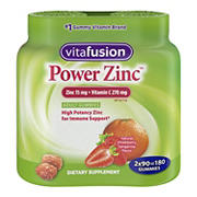 Vitafusion Power Zinc Twin Pack, 180 ct.
