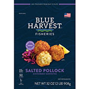 Blue Harvest Salted Pollock, 32 oz.