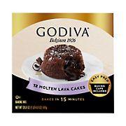 Godiva Molten Lava Cake Mix, 2 ct.