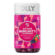 Olly Active Immunity Berry Gummy Supplement, 120 ct.