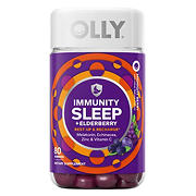 Olly Immunity Sleep Gummy with Melatonin, 80 ct.