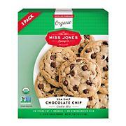 Miss Jones Organic Sea Salt Choc Chip Cookie Mix, 3 pk.