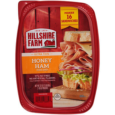 Hillshire Farm Honey Ham Ultra Thin Sliced Lunchmeat, 32 oz.