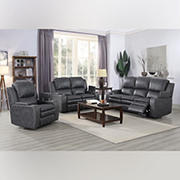 Kian Motion Providence 3-Pc. Living Room Set with White Glove Delivery
