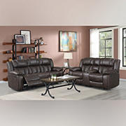 Kian Motion Auburn 2-Pc. Living Room Set with White Glove Delivery