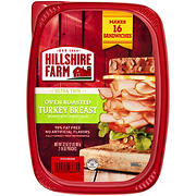 Hillshire Farm Ultra Thin Oven Roasted Turkey Breast Sliced Lunchmeat, 32 oz.