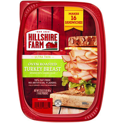 Hillshire Farm Ultra Thin Oven Roasted Turkey Breast Sliced Lunchmeat,