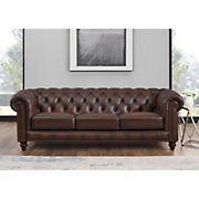 Hydeline Furniture Alton Bay Collection Leather Sofa