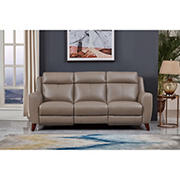 Hydeline Furniture Crescent Bay Collection Leather Sofa