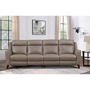 Hydeline Furniture Crescent Bay Collection Leather Sectional, 2 pieces