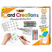 BIC Card Creation Kit Personalized Greeting Cards