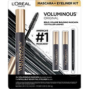 L'Oreal Paris Voluminous Never Fail Liner Kit