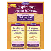 Nature's Secret Respiratory Support and Defense Twin Pack, 120 ct.