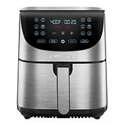 Gourmia 7-Qt. Stainless Steel Digital Air Fryer