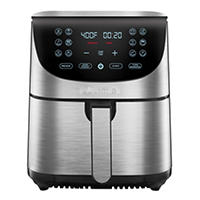 Deals on Gourmia 7-Qt. Stainless Steel Digital Air Fryer