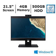 Acer Veriton VZ4660G-I3810H1 All-In-One Desktop, Intel Core i3 8th Generation Processor, 4GB Memory, 500GB HDD