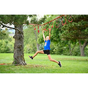 American Ninja Warrior 40' Deluxe Ninjaline Intro Kit with 9 Hanging Obstacles