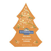 Ghirardelli Milk Chocolate Caramel Squares Tree Gift
