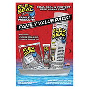 Flex Seal Clear Combo Pack