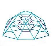 Plum Phobos Metal Climbing Dome - Teal and Purple