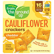 From The Ground Up Cauliflower Cheddar Crackers, 16 oz.