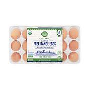 Wellsley Farms Oganic Free Range Large Eggs, 18 ct