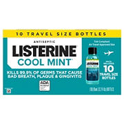 Listerine Cool Mint Antiseptic Mouthwash, 10 pk.