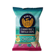 Siete Sea Salt Grain Free Tortilla Chips, 9.5 oz.