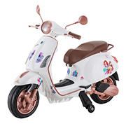 Kid Trax Disney Princess 6V Vespa Scooter Ride-On