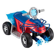Kid Trax Marvel's Spiderman 6V Toddler Quad Ride-On