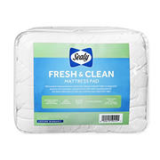 Sealy Fresh & Clean Queen Size Mattress Pad