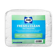 Sealy Fresh & Clean King Size Mattress Pad