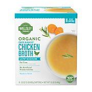 Wellsley Farms Organic Free-Range Low Sodium Chicken Broth, 6 ct.