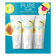 PURE by Gillette Venus Shaving Cream Manuka Honey and Vanilla, 3 ct.
