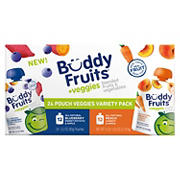 Buddy Fruits Blended Veggie and Fruit Pouches Variety Pack, 24 ct.
