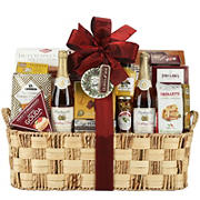 Wine Country Water Hyacinth WOW Gift Basket