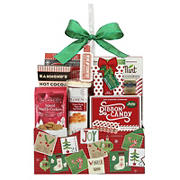 Wine Country Holiday Christmas Sweets Box