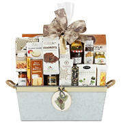 Wine & Country Sweet and Salty Metal Gift Basket