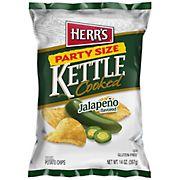 Herr's Jalapeno Kettle Chips, 14 oz.