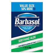 Barbasol Shaving Cream Soothing Aloe, 4 ct.